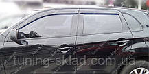 Ветровики окон Митсубиси АСХ (дефлекторы боковых окон Mitsubishi ASX)