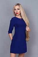 Платье мод. 237-3,размер 48 электрик, фото 1