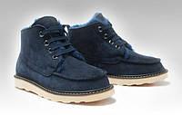 Обувь Мужская UGG David Beckham Boots Dark Blue
