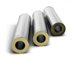 Трубы дымоходные двустенные термоизоляционные в оцинкованном кожухе