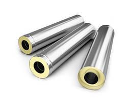 Трубы дымоходные двустеные термоизоляционные с нержавеющей стали