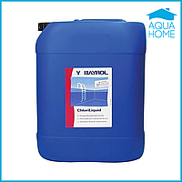Химия для бассейнов Жидкий хлор (Cloriliquide), Bayrol 35л