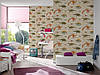 Плотные и прочные фактурные обои, бумажные для стен детской, 93633-1 динозаврики и дракончики, фото 4