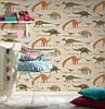 Плотные и прочные фактурные обои, бумажные для стен детской, 93633-1 динозаврики и дракончики, фото 9