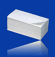 Полотенце Z-Z белые 150 листов