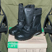 Ботинки с высокими берцами Стронг на -25 градусов мороза.