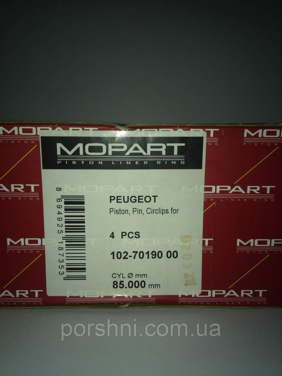 Поршни  Пежо  406  2.0 DW  c 2000 >        диам  85 Mopisan 7019000