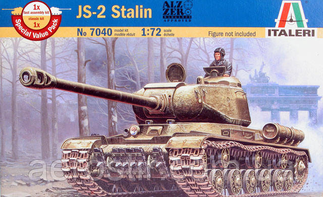 IS-2 Stalin 1/72 ITALERI 7040