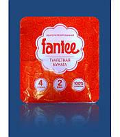 """Туалетная бумага """"Fantee"""" 4 рулона"""