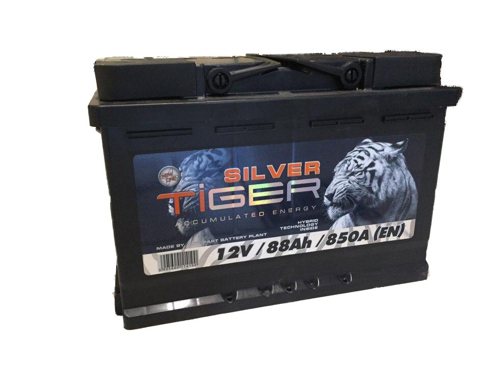 Акумулятор Tiger Silver 88Ah 850 A[EN] (-/+), фото 2