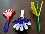 Рука хлопушка - трещотка для болельщиков, фото 3