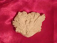 Гипсовая фигурка Влюбленные голуби