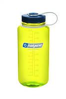 Желтая бутылка Nalgene для спорта на 1000мл