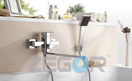 Смеситель для ванны Zegor LEB7-A123, фото 2