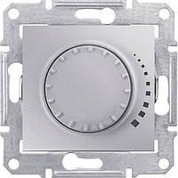 SHNEIDER ELECTRIC SEDNA Светорегулятор индуктивный проходной поворотно-нажимной Алюминий