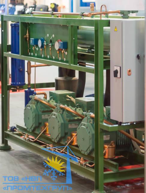 Холодильная установка Б/У Bitzer 3x 4NCS-12.2Y (168,75 m3/h)