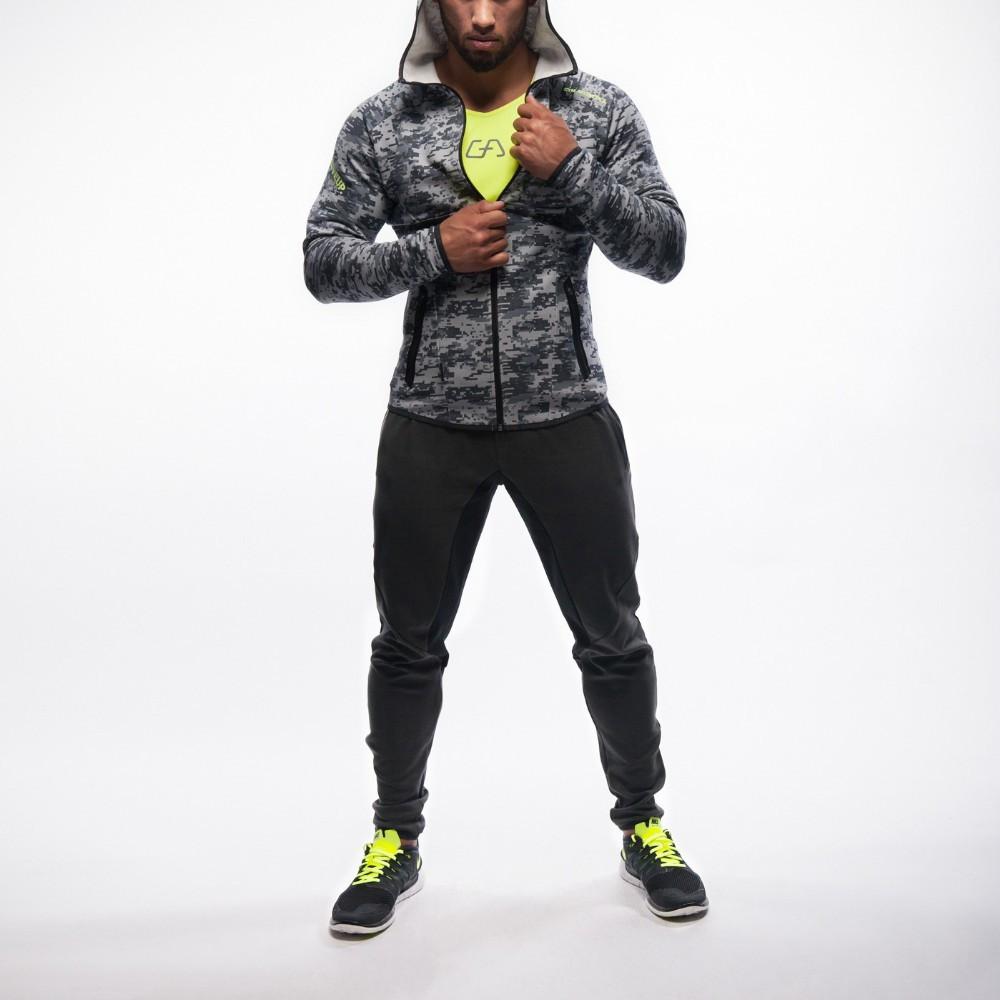 Мужской спортивный костюм Gym Aesthetics Camouflage Anthrazit