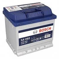 Автомобильный аккумулятор BOSCH, 52Ah, 12V S4 P+