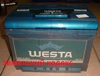 Аккумулятор 6СТ-60 А (1) E WESTA
