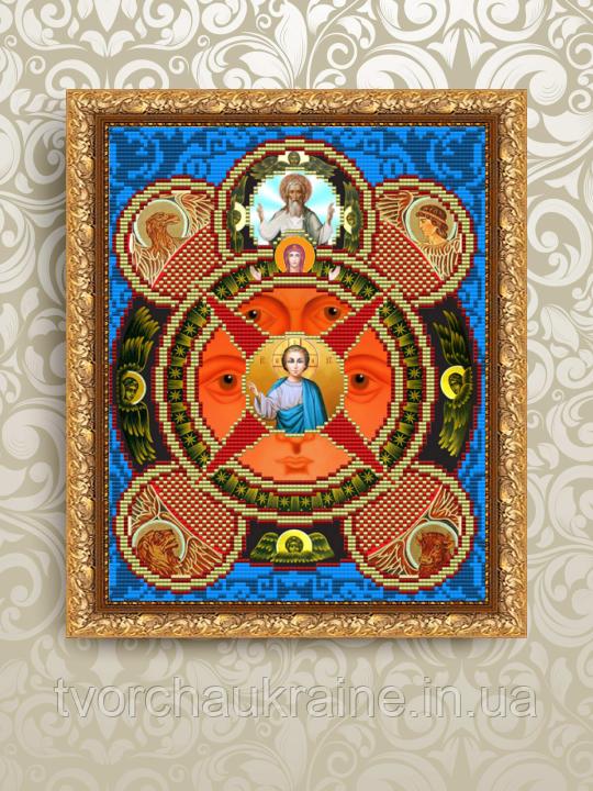 Авторская канва для вышивки бисером «Всевидящее Око Божие»