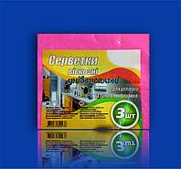 Салфетка вискозная 30х38 (3 шт)