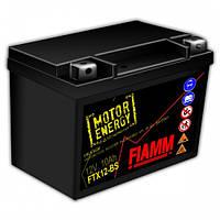 Качественный мотоаккумулятор FTX12-BS  гелевый 150 мм x 87 мм x 130 мм  FIAMM
