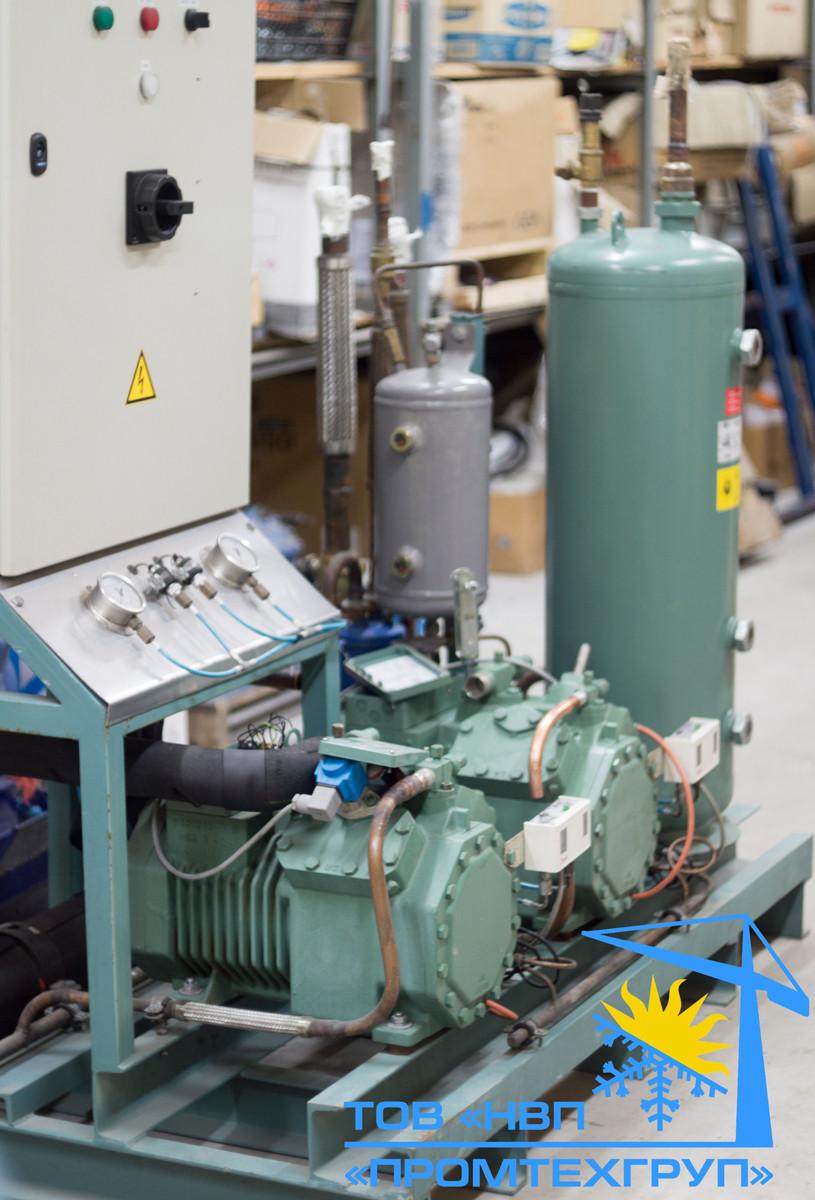 Холодильная установка б/у Bitzer 2-x 4CC-6.2Y (4CES-6Y 64,96 m3/h)