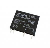 Твердотельные реле OMRON G3MB-202P, управление 5VDC, выход 240VAC 2А