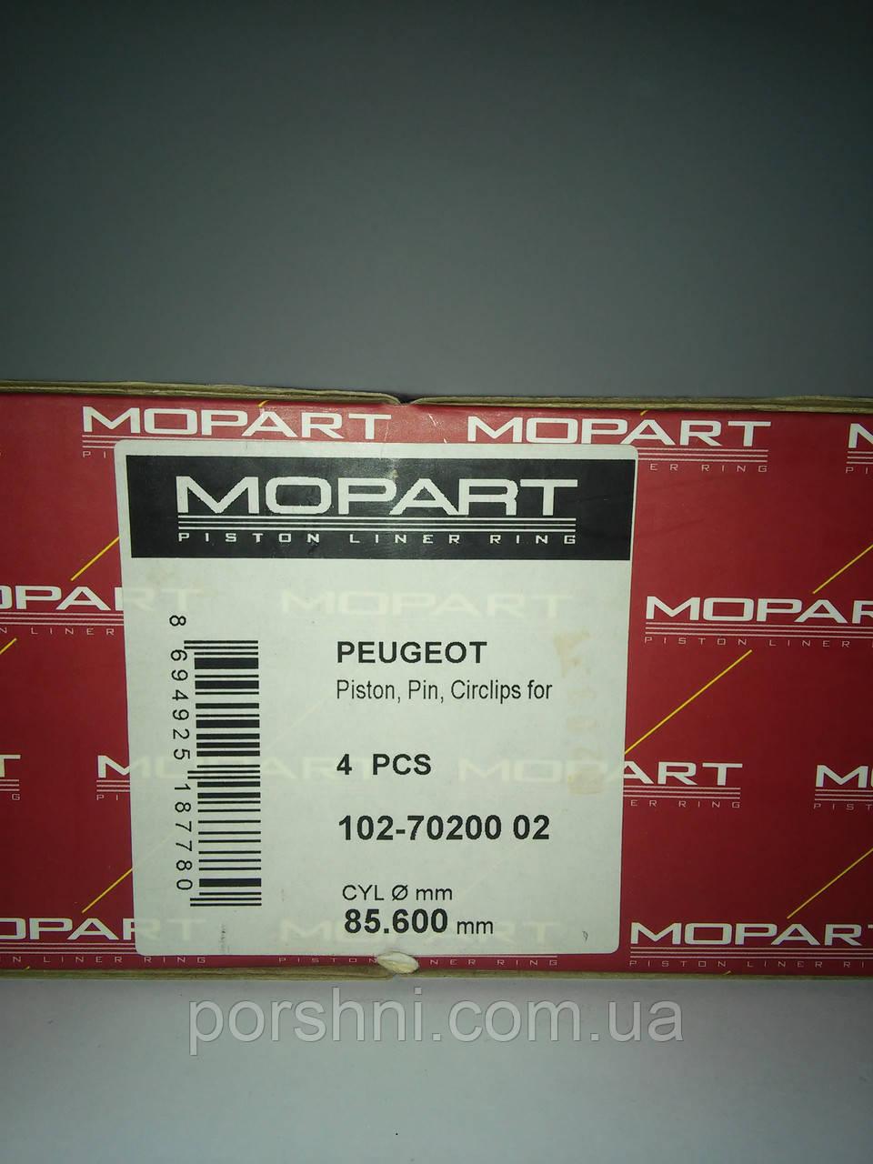 Поршни  Пежо  Boxer 2.2 DW 12  с 2000 > диам 85.6 MOPISAN 7020002