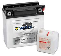 Аккумулятор для мотоциклов и скутеров Varta 12 вольт 9 ампер FS FP (12N9-4B-1,YB9-B) (136X76X134),L,Y6,EN80
