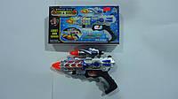 """Пистолет музыкальный """"Space Gun"""",свет,звук,батар. в коробке 250*140*35мм.Игрушечный музыкальный пистолет детск"""