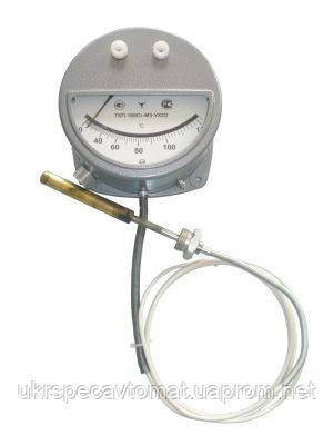 Термометр манометрический сигнализирующий ТКП-160Сг, фото 2
