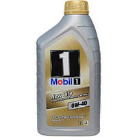 Масло моторное MOBIL 1 New Life 0W-40 (ACEA A3/B4, MB 229.5, Nissan GT-R) 1 л MOBIL MOBIL 1-1