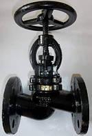 Клапан (вентиль) запорный 15кч16п1 Ду40 Ру25 чугунный фланцевый