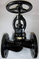 Клапан (вентиль) запорный 15кч16нж Ду32 Ру25 чугунный фланцевый