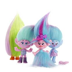 "Trolls - Poopy Fashion Frenzy - Модне безумство - 4 персонажі (""Тролли"" - Модное безумие) 10 см"