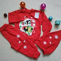 Новогодние костюмы на новорожденных деток