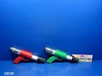 Пистолет TG0617A (72шт/2)стреляет шариками для пин-понга в пакете 28см