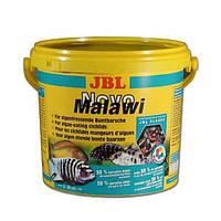 JBL NovoMalawi  5,5л-профессиональный корм в виде хлопьев для цихлид  (30012)
