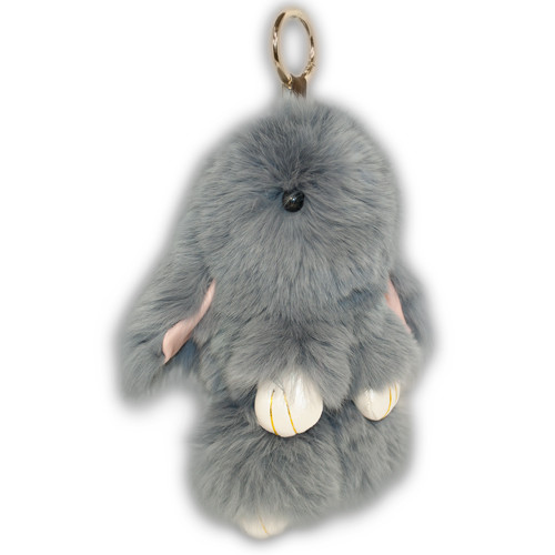 брелок кролик из натурального меха купить
