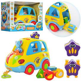 Развивающая игрушка сортер - каталка Автошка Limo Toy 9198