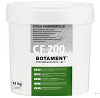 Силикатная затирка для швов BOTAMENT CF 200, цвет серый, 12кг