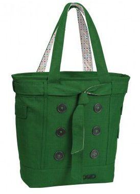 Женская оригинальная сумка HAMPTON'S WOMEN'S TOTE BAG 114006.331 Зеленая