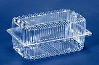 Судок / Упаковка пластиковая для пищевых продуктов ПС-52 (ж39/2260)