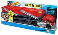 Машина мега трейлер Хот Вилс на 50 машинок / Hot Wheels Mega Hauler