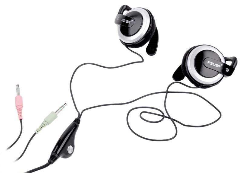 Наушники с микрофоном Azusa SN-083 Jack 3,5