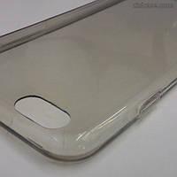 Силиконовый чехол для iPhone 6/6s (светло-серый)