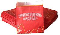 Упаковка для картофеля фри  большая 7.400Ф