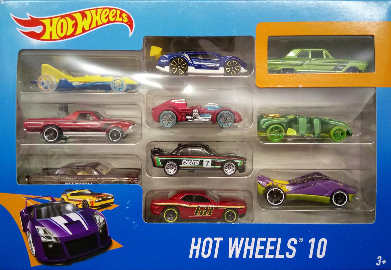 Hot Wheels Автомобіль базовий 10 шт.
