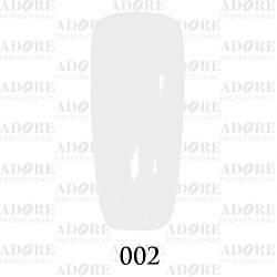 Гель лак Adore №002, Белый 9 мл
